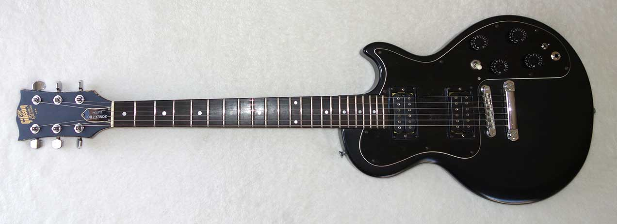 Vintage 1980 Gibson Sonex 180 Custom Solid Body Guitar w/DiMarzio Super Distortion Coil-Splits