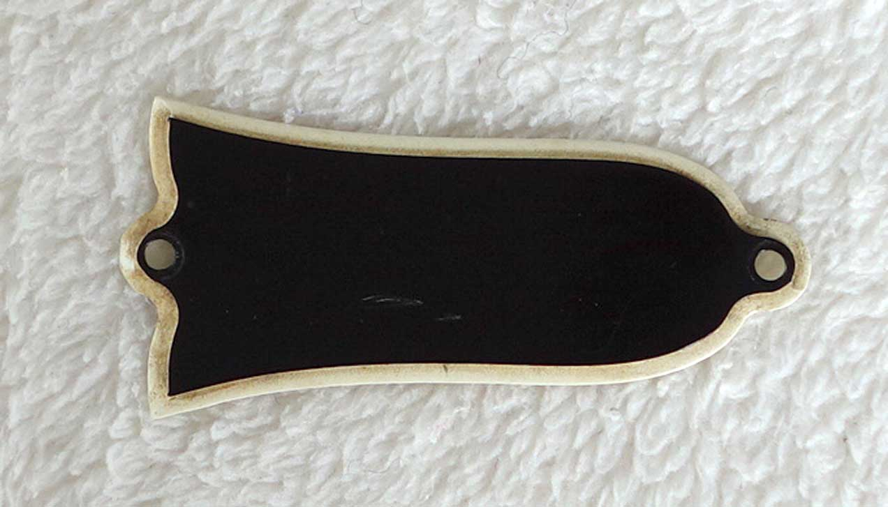 Vintage 1962 Gibson Wide Border Truss Rod Cover for 1960 - 1964 Upscale Gibsons
