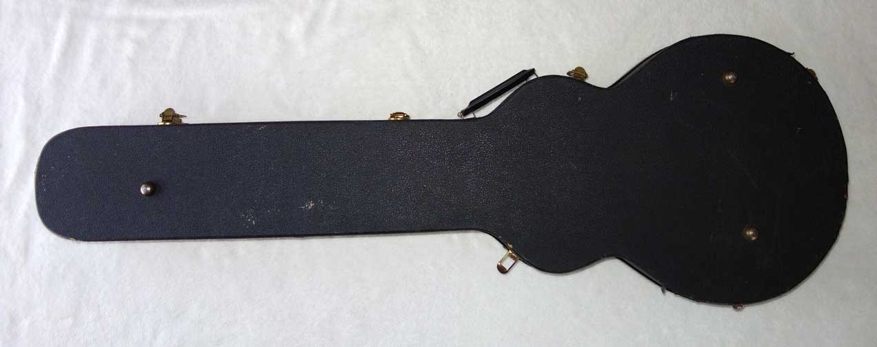 Vintage 1980s GIBSON Long Banana Headstock Guitar Case for Corvus, Futura, Black Knight Custom