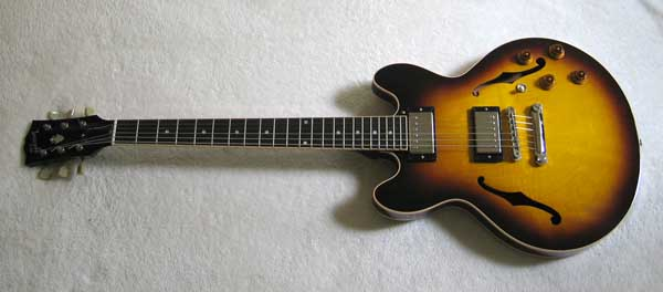 2009 GIBSON CS 336 Custom Shop ES-336 Vintage Sunburst Finish