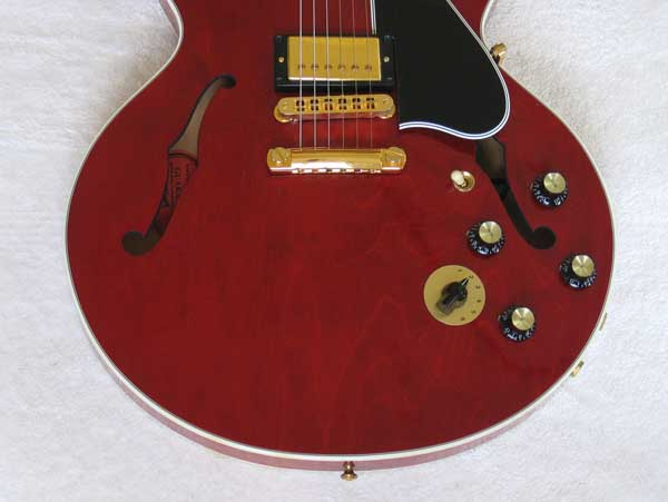2008 Gibson Custom Shop ES-346 Cherry Red Guitar
