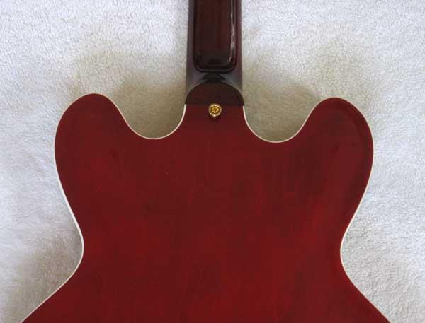 2008 Gibson Custom Shop ES-346 Cherry Red Guitar