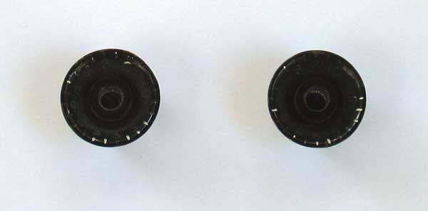 VINTAGE 1950s Gibson Knobs for Gibson Electric Guitars ES 175 225 335 jazz archtops & thinlines
