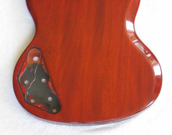 2006 GIBSON '61 Reissue / Heritage Cherry Body + Parts