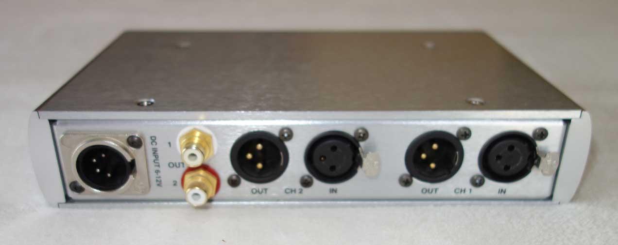 Used Grace Design Lunatec V2 Mic Portable Preamp for Field Recording