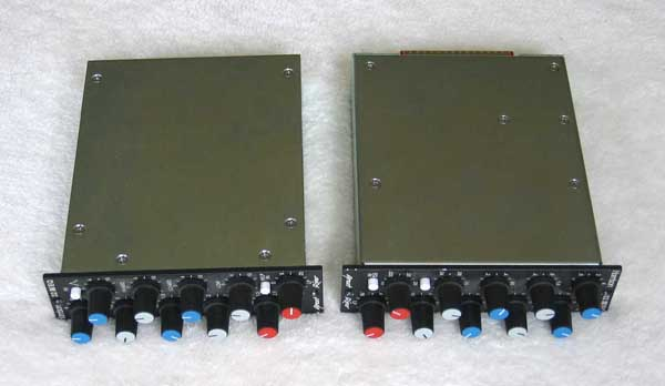 EXCELLENT CONDITION Great River HARRISON 32 EQ Modules for 500 Series Racks and API 1608 Console