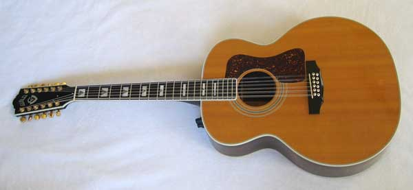 1993 Guild Westerly JF-55-NTE 12 String Rosewood Acoustic