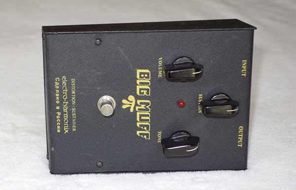 RUSSIAN Electro Harmonix / Sovtek Big Muff Pi Distortion/Sustainer Pedal for Electric Guitar