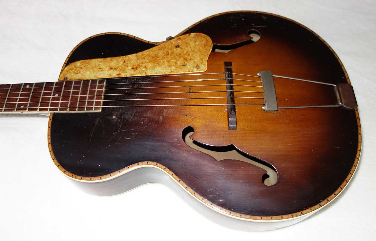 Vintage 1940s Harmony Brodway H954 / Biltmore State Archtop Guitar H954