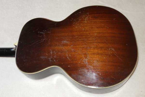 1938 Harmony / Royal Crest Archtop Guitar, Hand-Carved Spruce Top, Hand-Carved Mahogany Back!!!