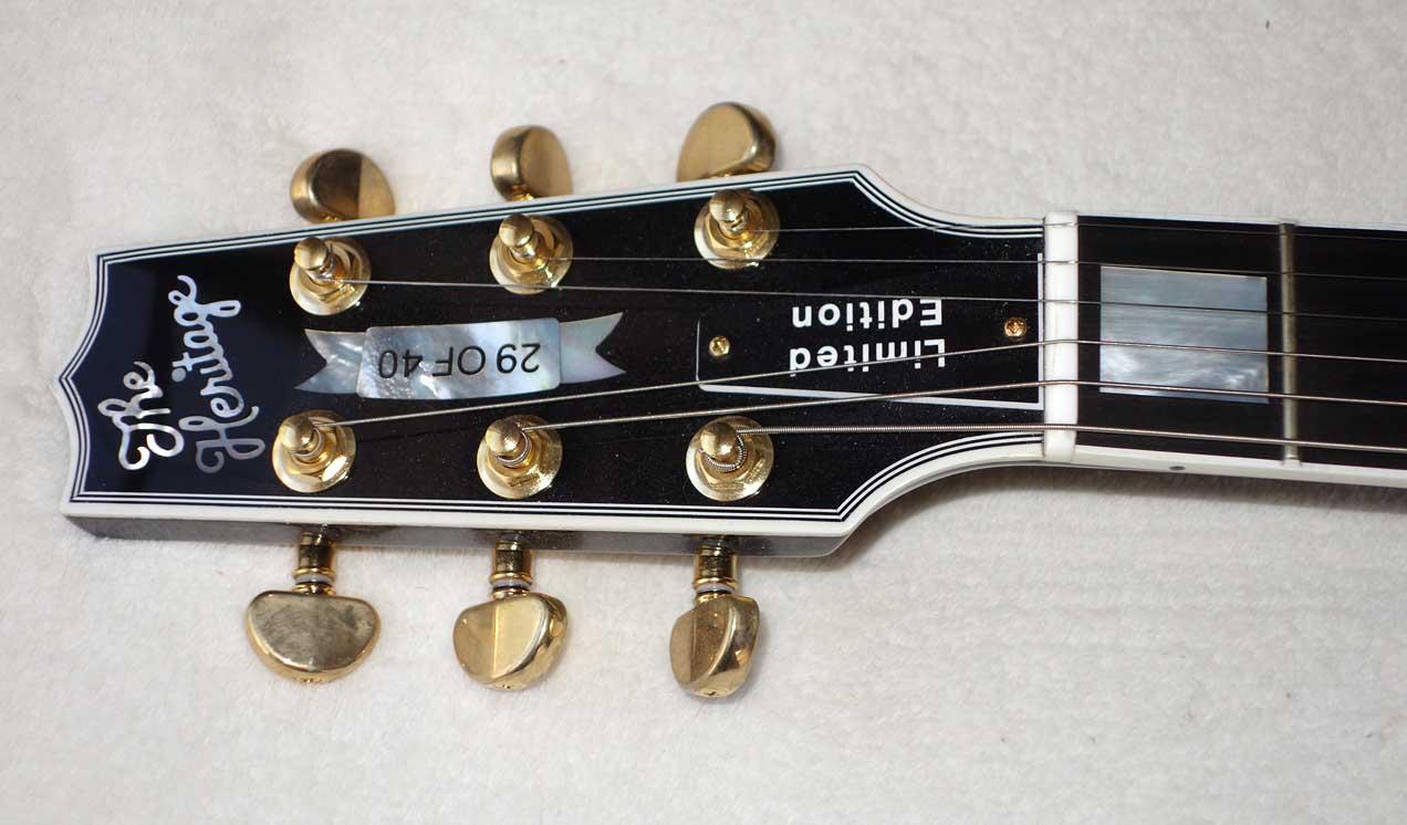"2015 Heritage H-157 ""Limited Edition"" 1954 Les Paul Custom"