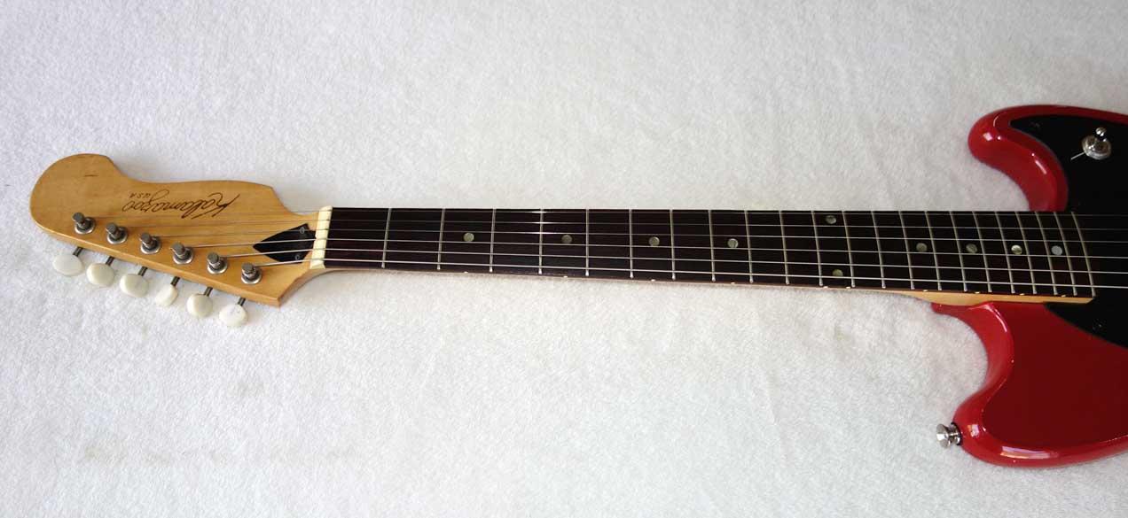 Vintage 1966 Kalamazoo KG-1/2 Gibson-Made, Modded w/Rio Grande BabyBucker PUP w/Split-Coil Switch!!