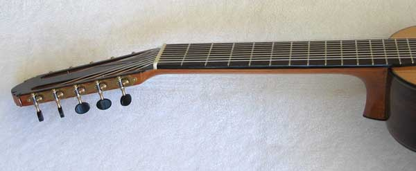 1972 Kohno 8 Ten-String Guitar Neck