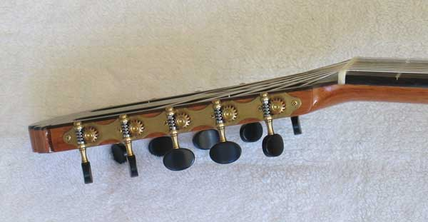 1972 Kohno 8 Ten-String Guitar Headstock