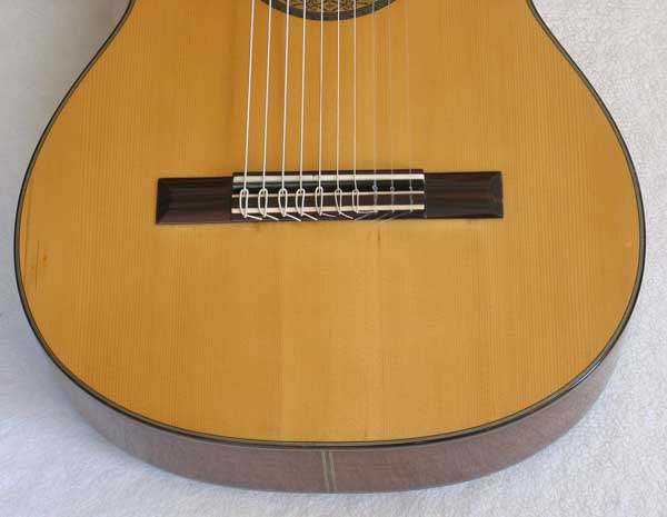 1972 Kohno 8 Ten-String Guitar Top