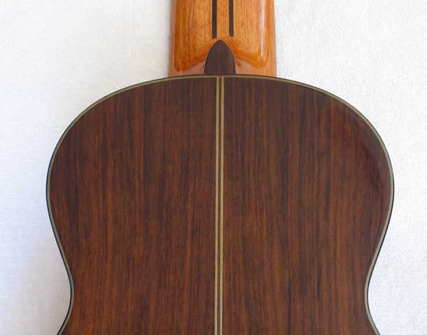 1972 Kohno 8 Ten-String Guitar Back