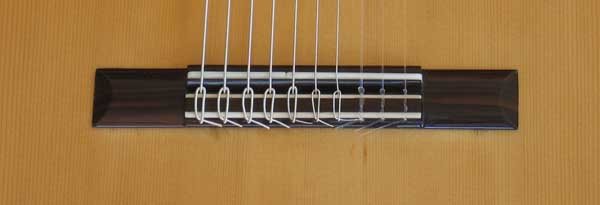 1972 Kohno 8 Ten-String Guitar Bridge