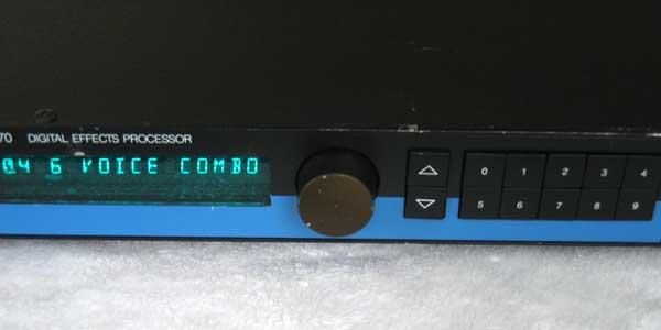 Vintage LEXICON PCM70 Digital Reverb / Effects Unit PCM-70