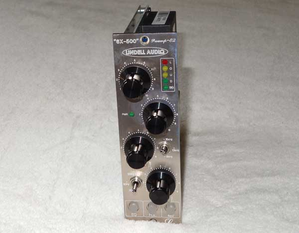 Lindell 6X-500 Pultec-Style Mic Preamp / Passive EQ Module for API 500-Series Racks, NEW