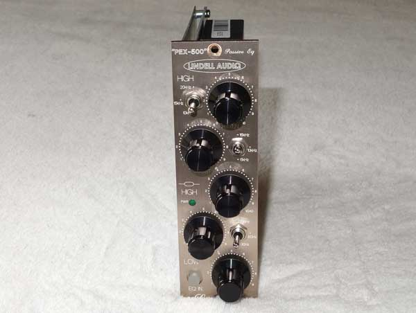 Lindell PEX-500 Pultec-Style Passive EQ Module for API 500-Series Racks, NEW