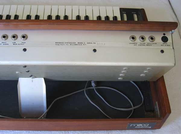 VINTAGE Minimoog Model D Analog Synth Recently Serviced -- 100% Original