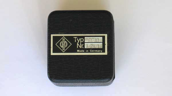VINTAGE Neumann KM84 / KK83 Cardioid / Omni Condenser Microphone Set KM83, KM-84i