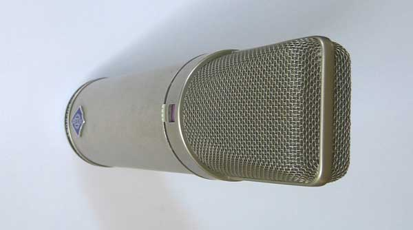 Vintage 1980s Neumann U87i Battery-Powered Microphone #41586
