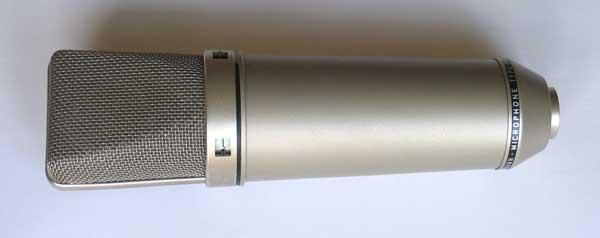 Vintage 1968 Neumann U87i Battery-Powered Microphone