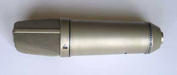 Vintage 1969 Neumann U87i Battery-Powered Microphone