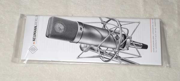 2016 Neumann U87Ai Factory Refurbished Condenser Mic w/Woodbox, Multi-Pattern, Black