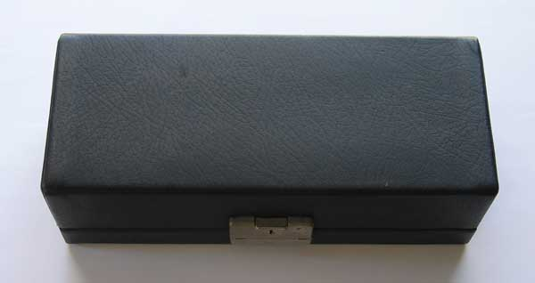VINTAGE Neumann U87 Original Leather Case