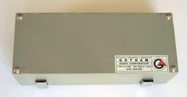 VINTAGE 1968 Neumann U87/U67 Original Microphone Case