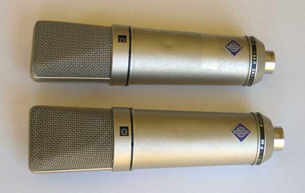 Vintage 1983 Neumann U89 Multi-Pattern Condenser Mic