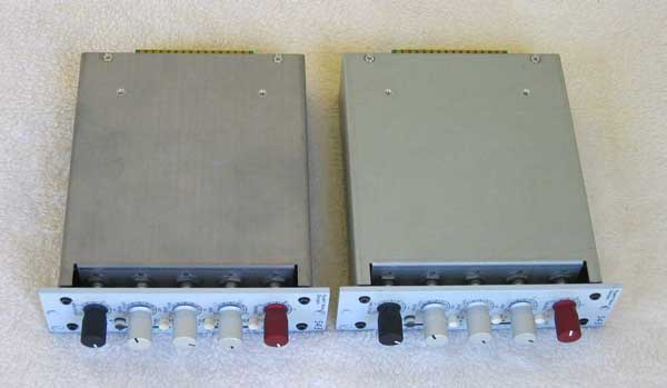 Neve 543 VCA Compressor Pair for API 500-Series Racks