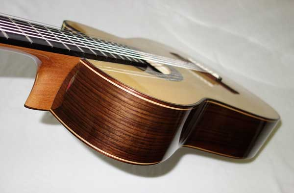NEW 2014 Lucio Nunez 7-String Classical Guitar w/HumiCase