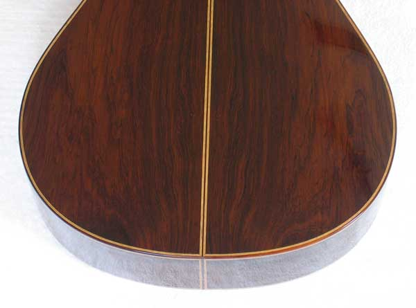 2004 Lucio Nunez 10-String Classical Harp Guitar Brazilian Back