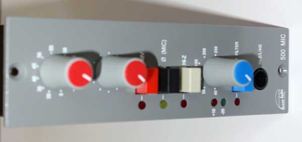 NEW Ocean Audio 500-Series Preamp Module -- by Malcolm Toft -- for 500-Series API Racks / API 1608 Consoles