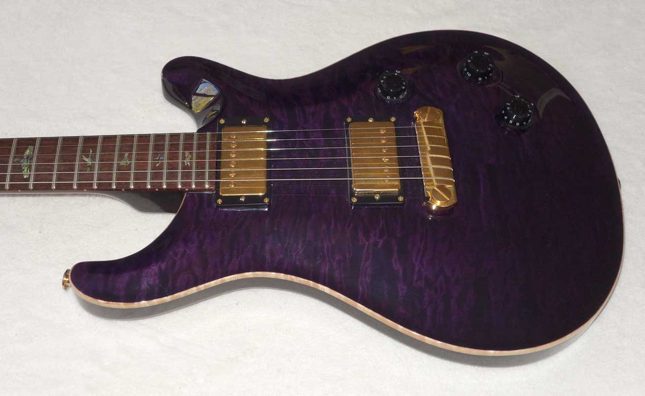 2005 Paul Reed Smith PRS CU-22 F20th Anniversary Model w/Artist Package, Quilt Maple Top