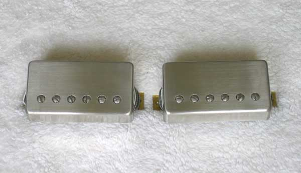 PRS 57/08 Pickup Set [Paul Reed Smith Original-Series 57/08 Nickel-Plated Pickups