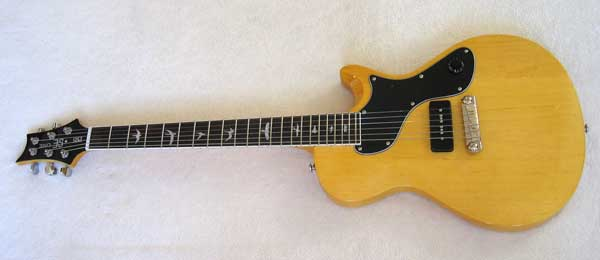 PSR Korina SE One Vintage Amber Electric Guitar and Gig Bag