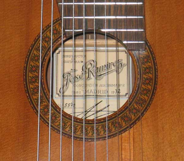 1972 RAMIREZ 1a 10-String Classical Guitar Conversion [Cedar / Brazilian Rosewood]
