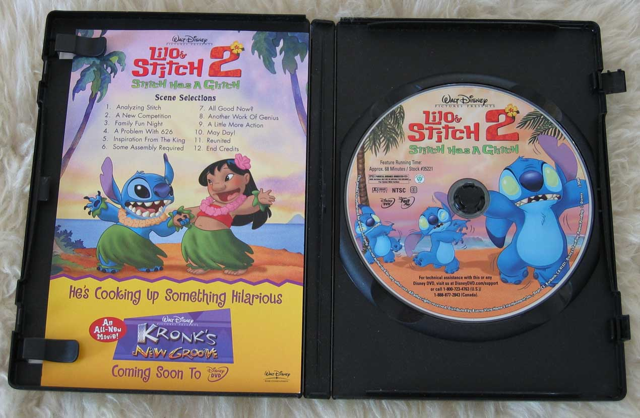 Lilo & Stitch 2 Stitch Has A Glitch DVD