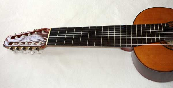 Vintage 1984 Ramirez 1a De Camera Model 10-String Classical Harp Guitar, Cedar Top, Owned by Simon Wynberg / Bountiful Bach CD