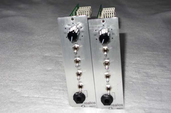Anamod Realios A9031 Helios Mic Preamp For 500-Series Racks