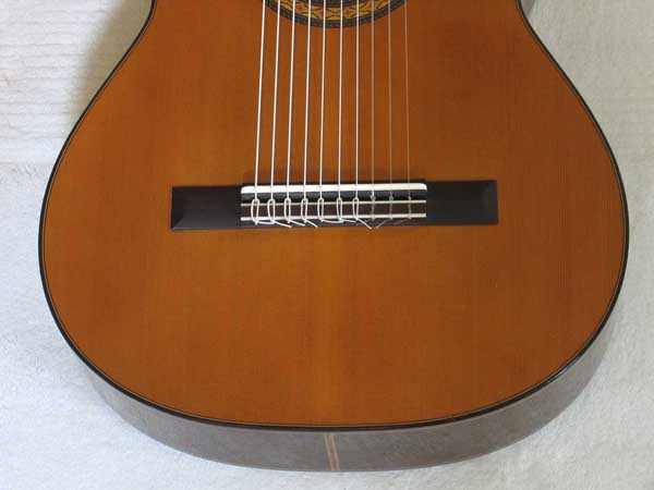 VINTAGE 1976 Sakurai Kohno Model 5 Classical Harp Guitar 10-String Conversion [Original Body Signed by Sakurai w/Signature Stamp]