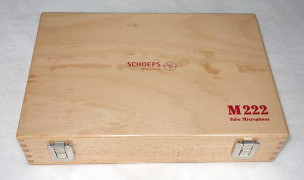 Factory Refurbished Schoeps M222 Tube Mic w/AC701k Telefunken Tube
