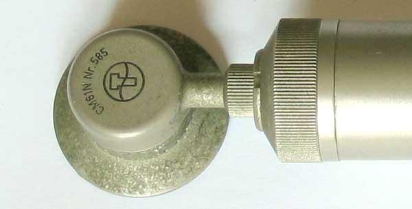 Vintage Schoeps Cm61 Condenser Tube 6au6 Mic Cm 61