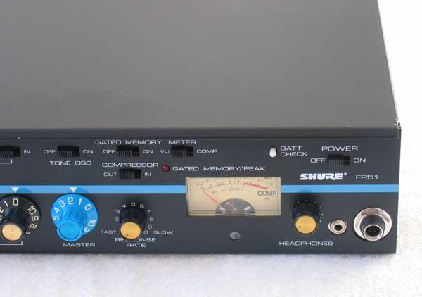 SHURE FP51 Compressor-Mixer