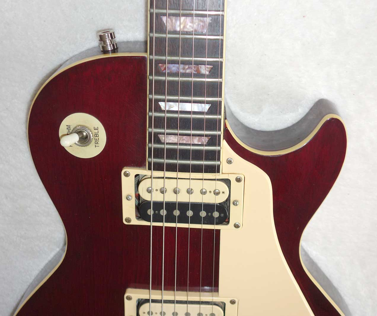 Vintage 1980 Vantage Spirit VLP-510 Les Paul Copy Made in Japan / Matsumoku w/Upgraded Seymour Duncan PUPs, Active Boost