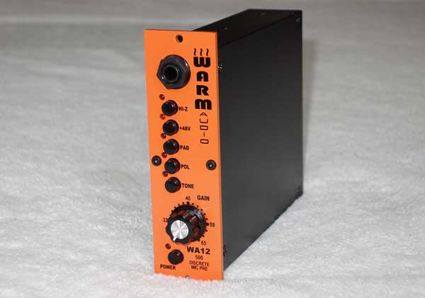 New WARM AUDIO WA12 500-Series Mic Preamp w/Custom Cinemag Transformer [API 312-Style Circuit]